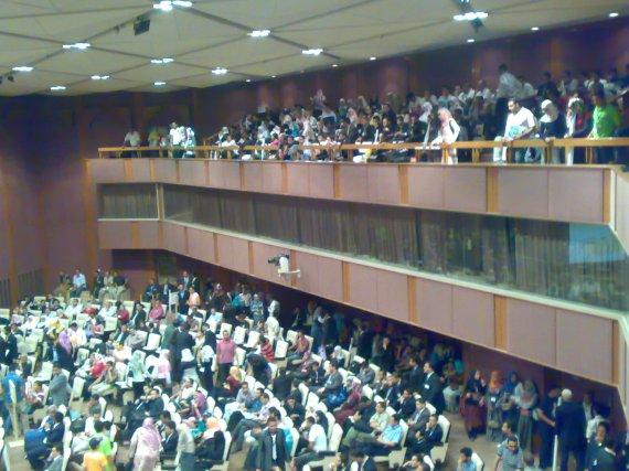 Crowded Hall